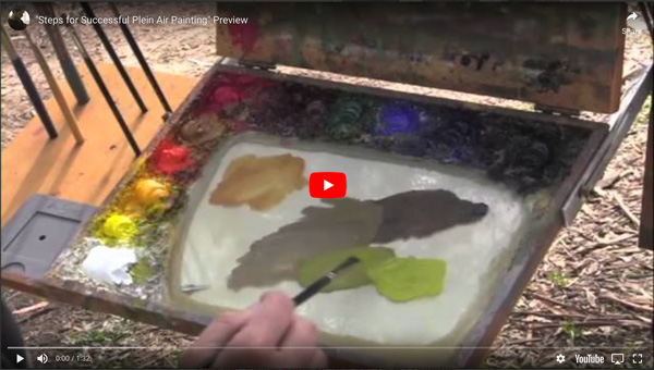 Instructional Video - Dan Schultz, Steps for Successful Plein Air Painting